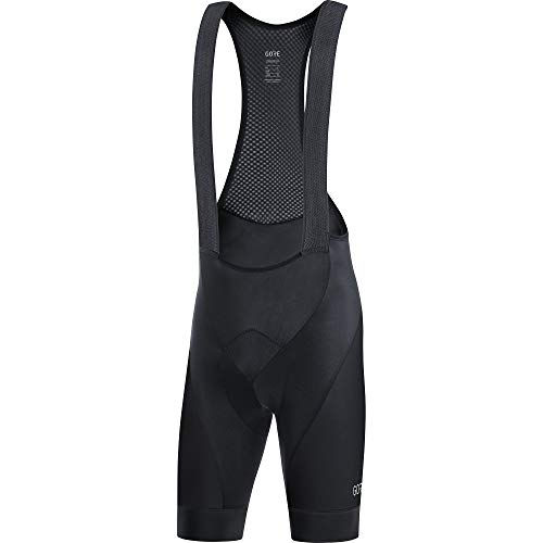 GORE WEAR C3 Men's Cycling Bib Shorts with Seat Insert, XL, Black