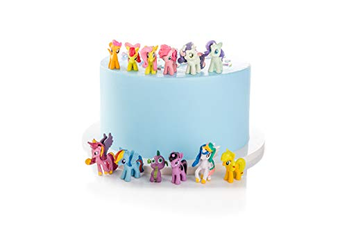 my little pony cake toppers mini figures Characters set of 12 Action...