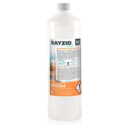 Höfer Chemie 6 x 1 kg pH Senker Premium Minus flüssig ORIGINAL für einen optimalen pH-Wert und eine Gute Wasserqualität