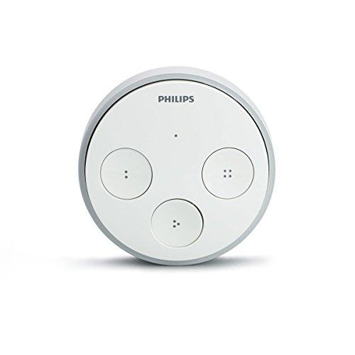 Philips Hue Tap Telecomando Wireless per il Controllo del Sistema Hue, Bianco