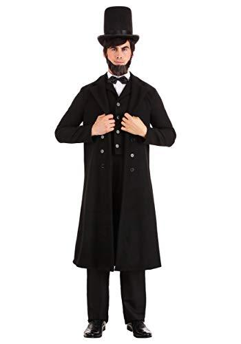 President Abe Lincoln Fancy Dress - Disfraz grande