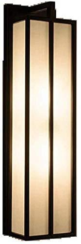 PSOU wandlamp - nieuwe wandverlichting Chinese moderne minimalistische woonkamer op het scherm Sunset TV muurverlichting - klein 15 x 45 x 12 cm