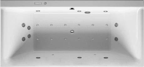 Duravit p3 comforts - Bañera hidromasaje combi-l 1900x900