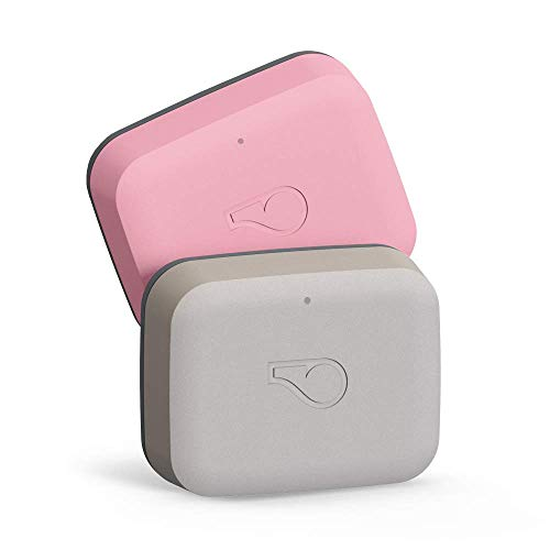 Whistle GO 2-Pack (Taupe/Blush)