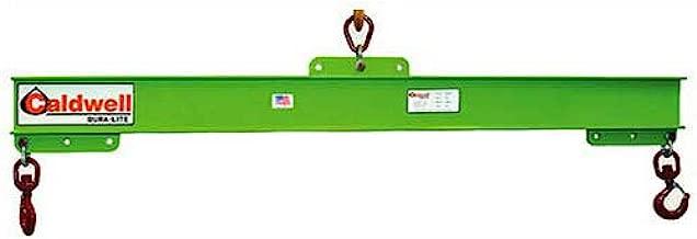 Caldwell 416-1/4-6, 14 Ton Capacity, Composite Adjustable Spreader Lifting Beam, 6' Hook Spread
