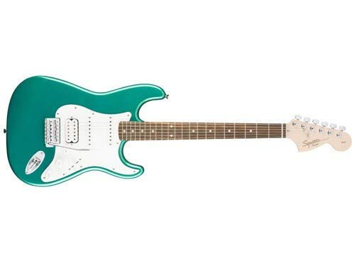 Squier by Fender Affinity Series Stratocaster HSS Electric Guitar - Laurel Fingerboard - Race Green