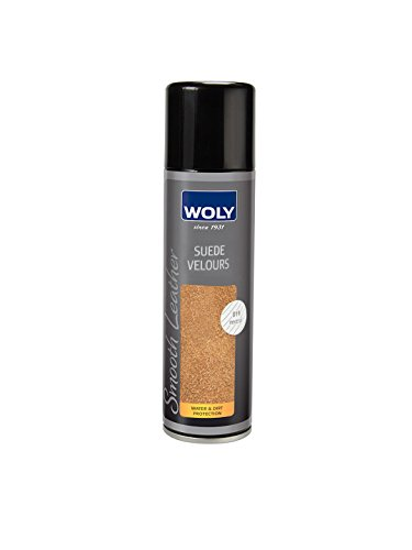 Woly Neutral Suede Shoes & Handbags Color Renovating Spray, Protects Against Moisture & Dirt. Clothing. Made in Germany.