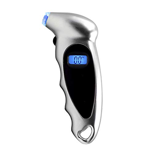 Hydraulax Backlit Digital Tire Pressure Gauge - Precisely Fill Your Tires with This Compressor Companion