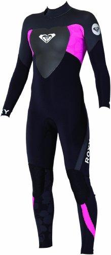 Roxy dames wetsuit 4/3 back zip lange mouwen Steamer