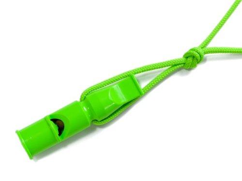 Acme 640 Sifflet de dressage pour chien 2 tons avec cordon 9 cm Vert fluo