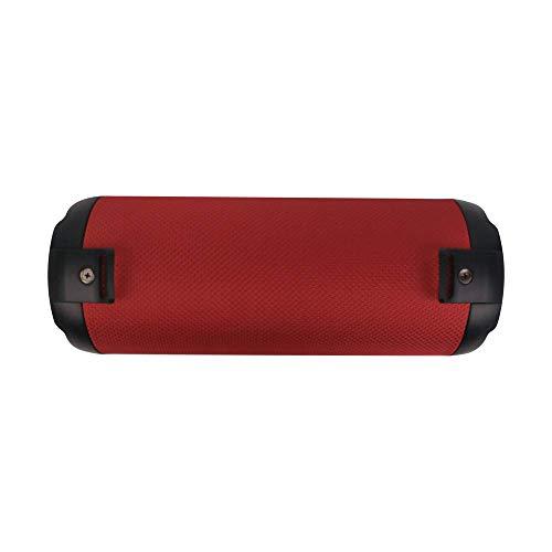 NGS Altavoz PORTÁTIL INALÁMBRICO Roller Tempo Red de 20W-Compatible con TECNOLOGÍA Bluetooth 5.0 Y TWS -USB-SD-AUX IN. hasta 7HRS AUTONOMÍA.