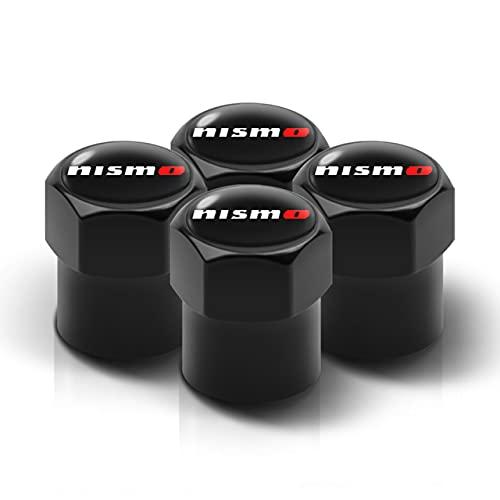 4 Piezas Neumático Automóvil Tapas Para Válvulas, para Nissan Tiida Teana Skyline Juke X-trail Almera Qashqai Antipolvo Resistente Agua Decoración Tapas VáLvulas de Coche Accesorios