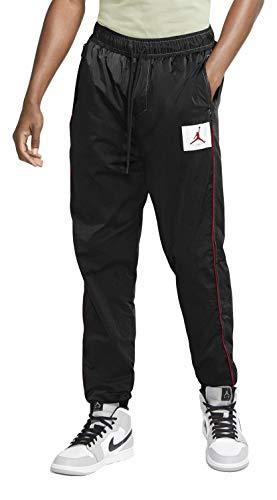 Nike Jordan Flight Men's Warmup Pants CK6656-010 Black/Black/University Red (M)