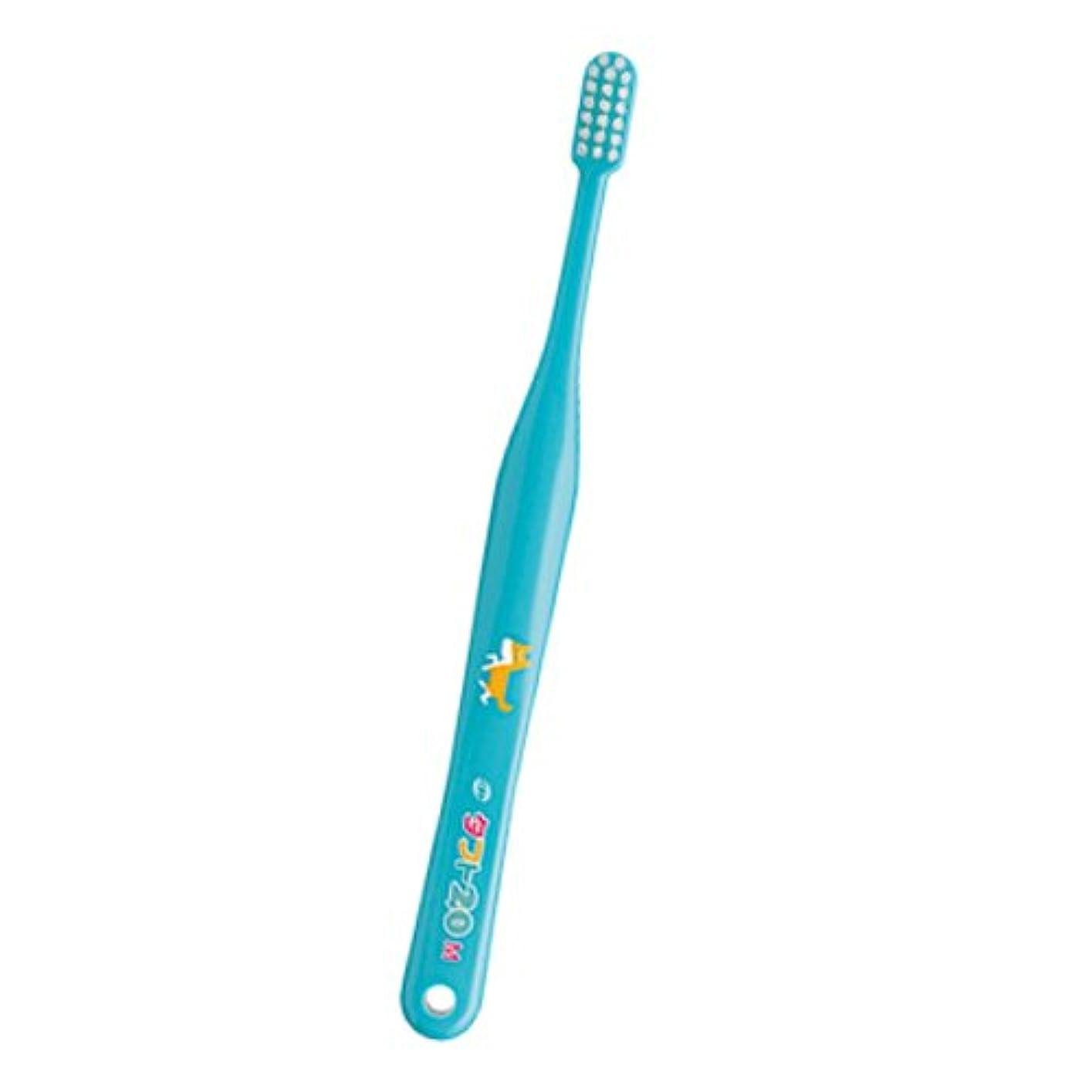 バンガロー連続した擬人化タフト 20 歯ブラシ ミディアム 1本 ブルー M