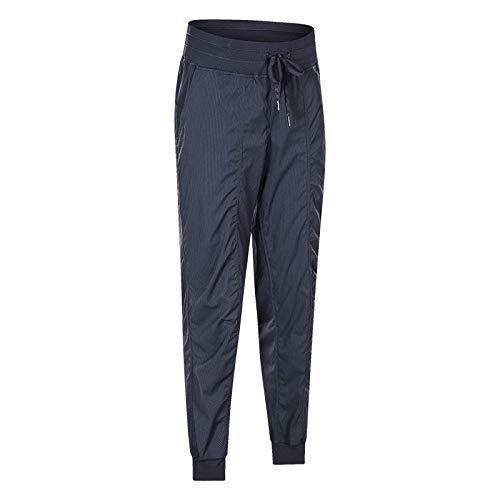 SHENSHI Damen Jogginghose Sporthose,Drawstring Fitness Workout Loose Gym Yoga Blue Sweatpant, Wie Das Bild Zeigt, Klein