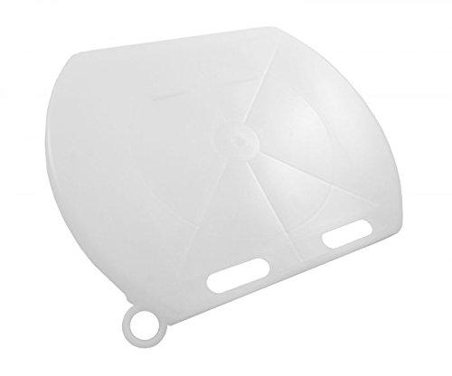 Gewa Deckel für Kälbereimer TRANSPARENT, Kunststoff ✓NEUHEIT: Transparente Farbe ✓Schützt Kälbermilch vor Verschmutzung und Abkühlung, Kälbertränke, Tränke