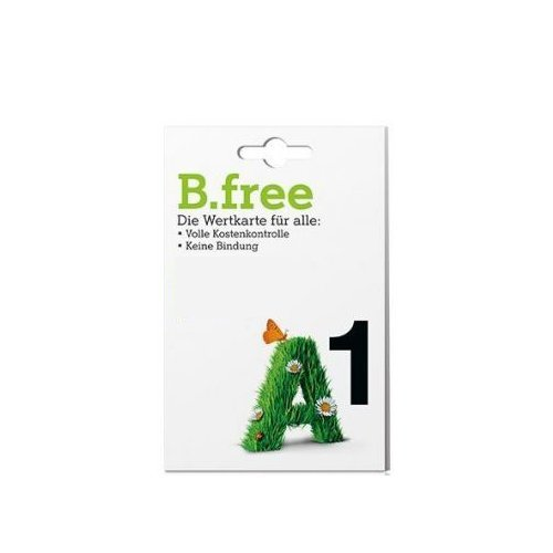 B-Free Simkarte / Wertkarte - OVP