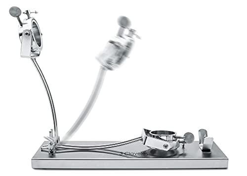 Soporte Jamonero 3 Claveles Giratorio Abatible- Base de Acero – Herrajes de Metal – Giratorio – Plegable.