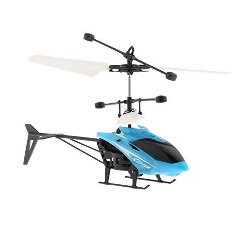 #N/a Mini RC Helicóptero Infraed Indução 2 Canais Suspensão Eletrônica Engraçada - Amarelo