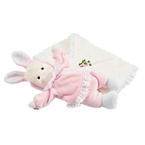 BGROEST-hm Handkurbel Schlafsack, der Kopf-Puppen-Spieluhr, Valentinstag-Weihnachtsgeburtstags-Geschenk-Handwerk rüttelt (Farbe : Picture Color, Größe : 25X9X5CM)
