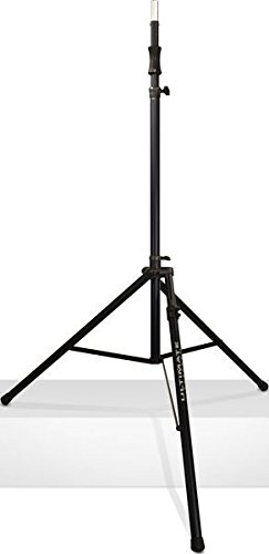 Ultimate Support TS-110BL Air-Powered Series Lift-assist Aluminum Tripod Speaker Stand - Xtra Tall & Includes Leveling Leg