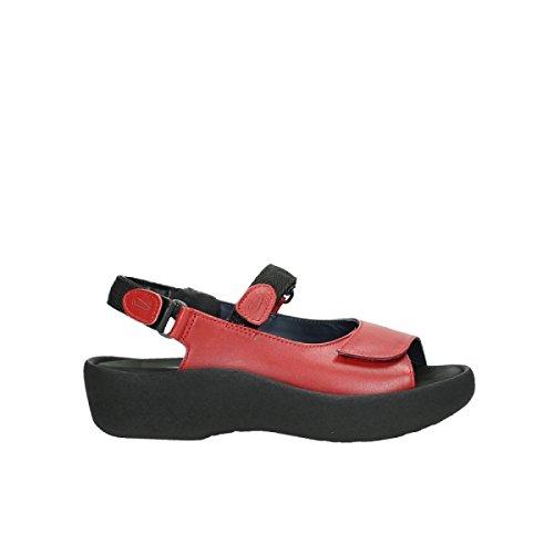 Wolky Comfort Sandalen Jewel - 30500 rot Leder - 39