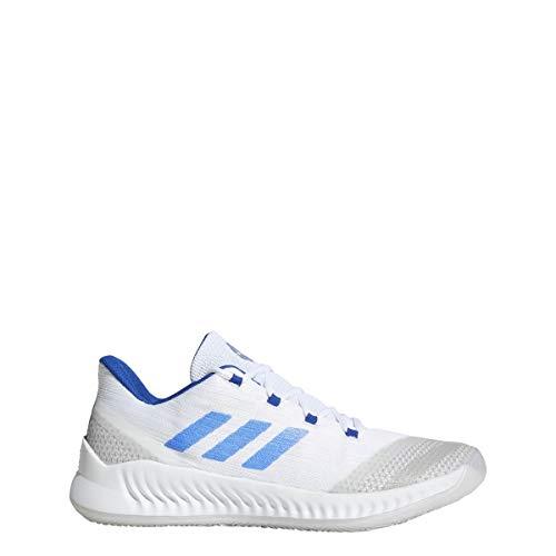 adidas B/E 2 Shoe - Men's Basketball (13.5, White/Royal)