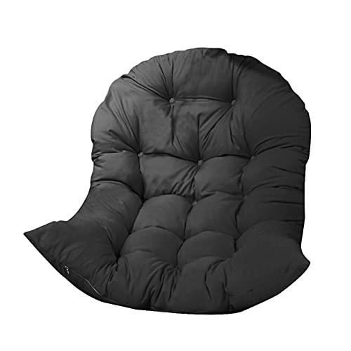 Cojín de asiento para colgar con canasta, grueso para colgar huevos, almohadillas para silla, suaves, impermeables, para patio, jardín, ocho colores