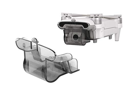 Tineer FIMI X8 SE Gimbal Lock Camera Protective Cover cap, Lucchetto cardanico Coperchio Parasole Copriobiettivo Sun Hood Antipolvere per FIMI X8 SE RC Quadcopter Drone (Trasparente)