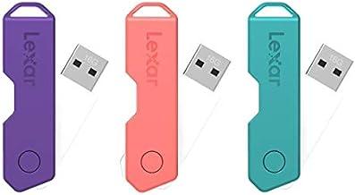 Lexar JumpDrive TwistTurn2 USB 2.0 Flash Drive, 16GB, Assorted Colors, LJDTT2-16GABOD20