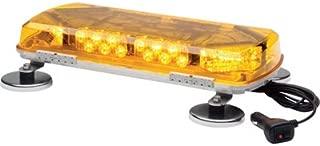 Whelen Century Amber Mini Lightbar with Magnetic Mount - 12 Volt, 16in, 8 LEDs, Model# MC16MA