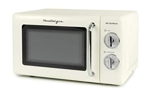 microondas retro de la marca Nostalgia