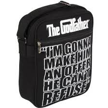 De Pate tas I'm Gonna Make Him Aan Open The Godfather schoudertas messenger bag