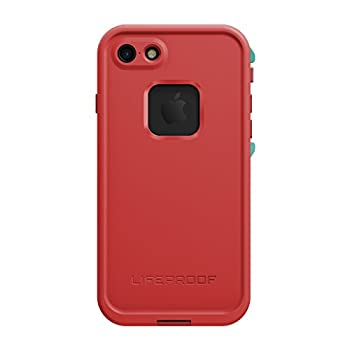 Lifeproof FRĒ SERIES Waterproof Case for iPhone 7  ONLY  - Retail Packaging - EMBER RED  RACE RED/FLAME RED/LIGHT TEAL