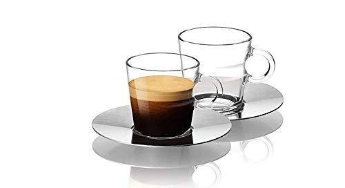 NESPRESSO espressoglazen, set van 2 - glazen espresso - Espresso Glass Cup 60 ml