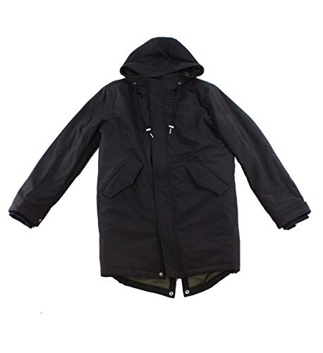 Levi's Herren Soft Shell Fashion Fishtail Parka - Schwarz - Groß