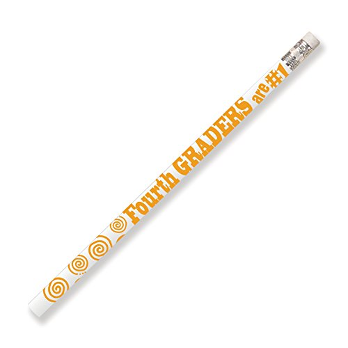 Musgrave Pencil MUS2207G 4th Graders are #1 Motivational Pencils (Pack of 144)