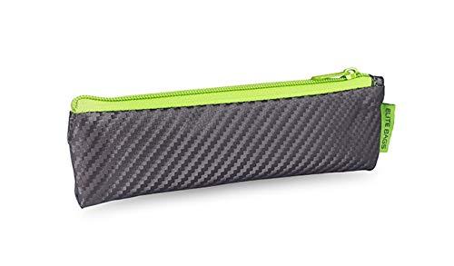 Diabetiker Tasche | Reißverschluss | für Insulin Pen | Grau und Limette | Insulin´s | Elite Bags
