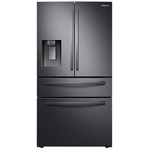Samsung RF28R7351SG 27.8 Cu. Ft. Black Stainless 4-Door French Door Refrigerator