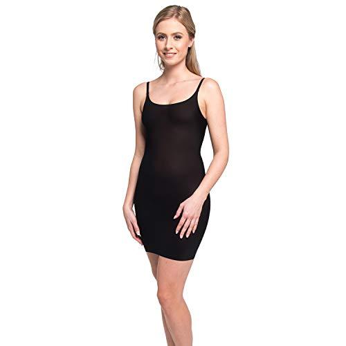MAGIC BODYFASHION Lite Dress Sottoveste Modellante, Nero (Black 100), 46 (Taglia Produttore: Large) Donna