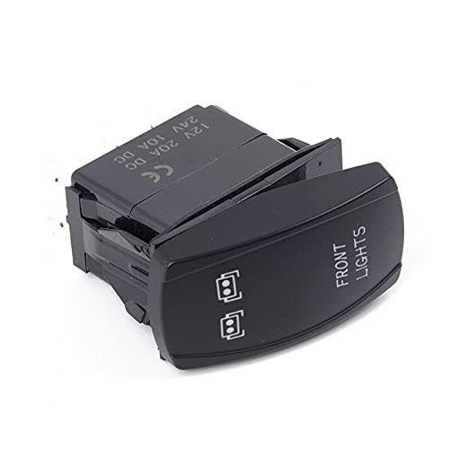 MEILIJIE XIAOXU MIN 3 unids/Set Delantero y Trasero y de la Barra de luz LED Interruptor de Rocker Cabe para UTV Polaris RZR 900 1000 Ranger
