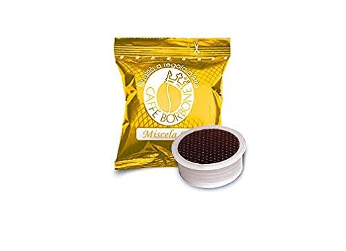 Caffè Borbone Café Mélange Or - 100 Capsules - Compatibles avec les Machines à café Lavazza®* Espresso Point®*