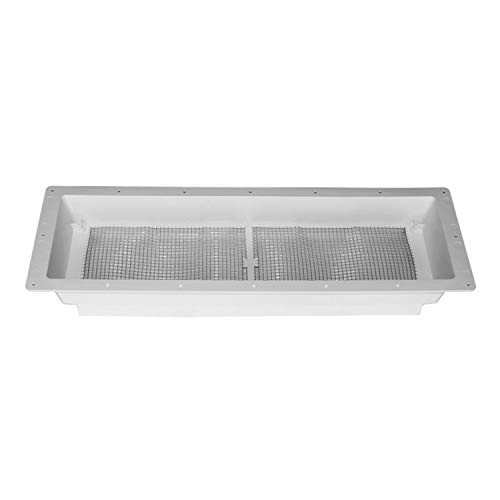 DOMETIC 3312694.007 Refrigerator Vent Base Only for Complete Vent Kit - Polar White