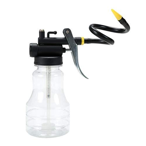 jidan SCHMIEREN Gun Hand Mini Pump TRANSPARENT Handbuch 250ML Tragbare Fettpresse Ölpumpenschlauch Mini Fett Hochdruckpumpe Öler High Strength...