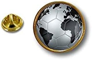 Spilla Pin pin's Spille spilletta Giacca Bandiera Badge Pallone Calcio Silver