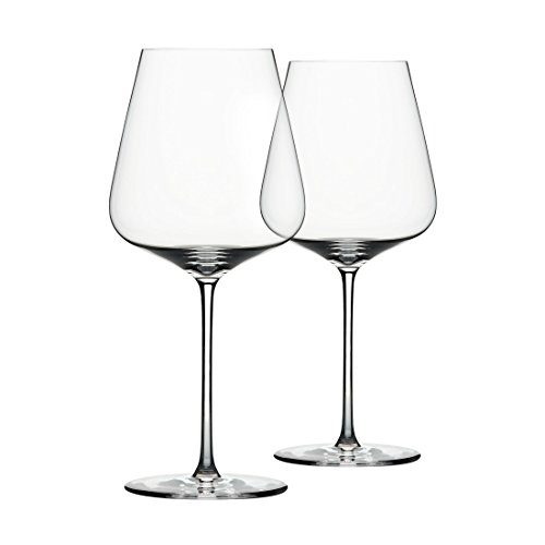 ZALTO Bordeauxglas DENK'ART, H 24 cm, 2er Set