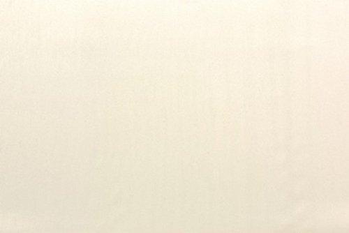Furninero – Tiefer gepolsterter Sitzbank Sitzhocker Sitzruhe Betthocker Ottomane, mit Stauraum, Gerundete Beine, 140 cm breit, Majestic Velvet Creme Stoff, Ecru - 2