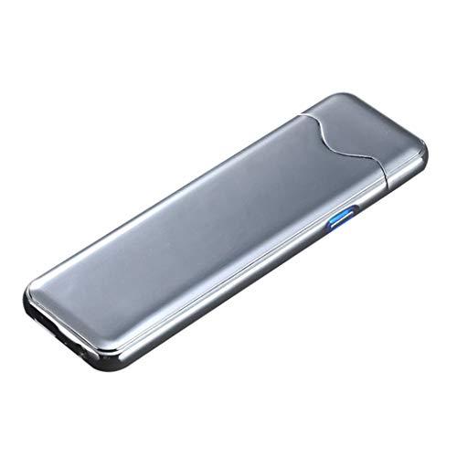 Hniunew Induktiv tändare touch lätt elektronik automatisk tändare vindtät USB-ljusbåge tändare lång livslängd plasma elektrisk tändare eltändare, uppladdningsbar
