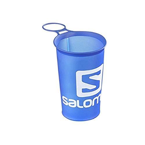 Salomon, Gobelet Souple, Pratique et Transportable, Parfait pour les Randonnées, SOFT CUP SPEED 150ml/5oz, Bleu, NS, L39389900