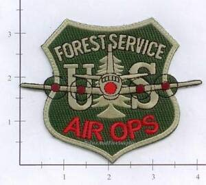 us forest service patch - 1